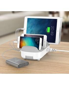 Tabletwagen 10 Ports USB Charging Dock Station