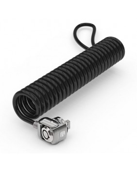 Schlösser Universal Security Keyed Coiled Cable Lock